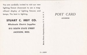 JACKSON, Mississippi, 1940-60s; Stuart C. Irby Co., Wholesale Electric Supplies