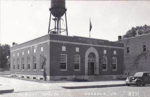 RP; OSCEOLA , Iowa , 1930s-40s; Post Office