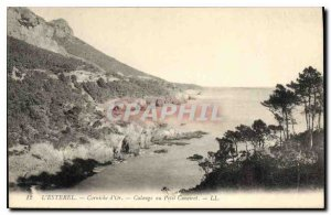 Postcard Old Esterel Corniche Golden Calange Petit Caneiret