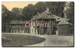 Old Postcard Versailles Hameau De Triano House Queen