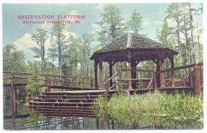 Observation Platform , Okefenokee Swamp Park , Georgia, 40-60s