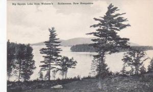 New Hampshire Holdeness Big Squam Lake From Websters Albertype