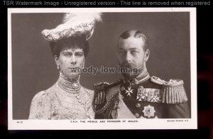 r3776 - The Prince & Princess of Wales portrait - Rotary No.41 D - postcard