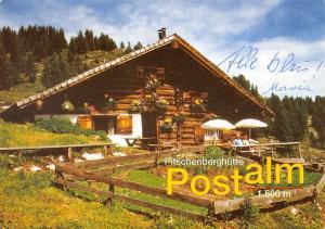 Abtenau Pitschenberghuette auf der Postalm Laurentius und Anna Buchegger
