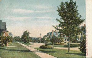 Portsmouth Terrace, Rochester, New York - Glitter Enhanced - UDB
