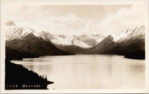 Lake Bennett YT Unused G. Morris Taylor RPPC Postcard G88