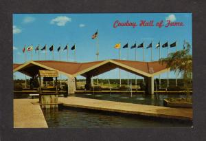 OK National Cowboy Hall of Fame Oklahoma City Postcard Western Heritage Center