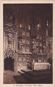 Spain Tarragona Catedral Altar Major