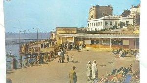 Vtg Postcard Rozel Promenade Weston Super Mare 1961 The Vernon Adcock Band Show