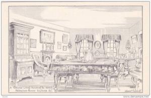 AS: Edward Goodall, Colonial Living Room , Helmcken House , Victoria , B.C. ,...
