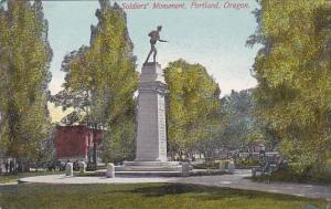 Soldiers' Monument Portland Oregon 1911