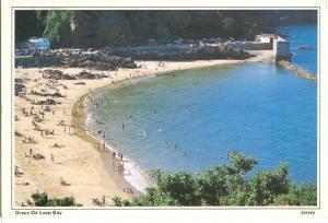 Greve De Lecq Bay, Jersey, used Postcard