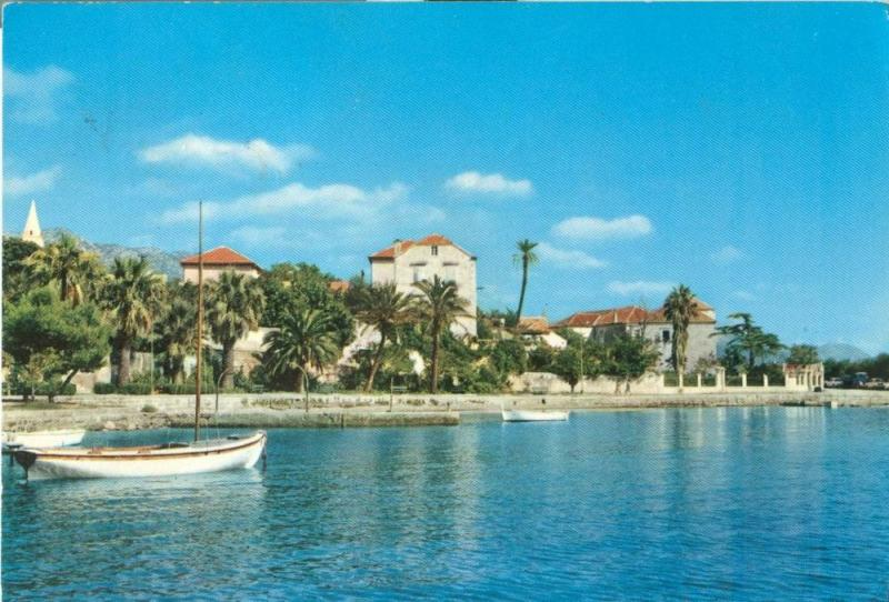 Croatia, Orebić, used Postcard