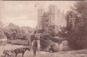 England Warwick Kenilworth Castle Entrance