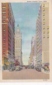 Oklahoma Tulsa Boston Avenue Curteich