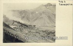 Casapalca, Peru A Large Copper Smelter