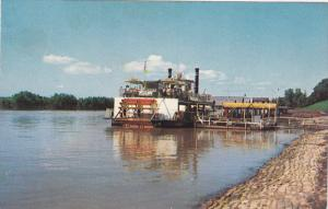 The Memphis Queen II Sightseeing Cruise Ship, Mississippi River, 40-60´s