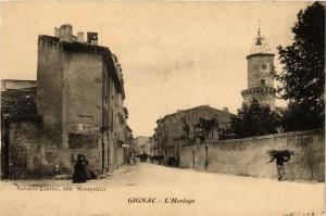 CPA Gignac-L'Horloge (255517)