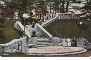 LAKE GEORGE, New York, 00-10s; Approach, Fort William Henry Grounds