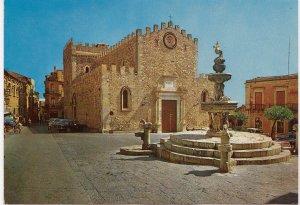 TAORMINA, Cattedrale, Cathedral, unused Postcard