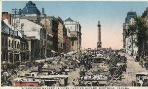 MONTREAL, Quebec, 1932; Bonsecours Market on Jacques-Cartier Square # 2