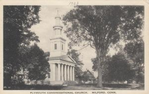 MILFORD , Connecticut, 1900-10s; Plymouth Congregational Church