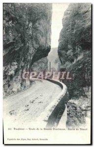 Old Postcard Dauphine Road Exit Grande Chartreuse Desert
