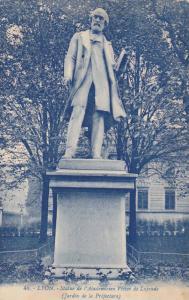 Statue De l'Academicien Victor De Laprade, Jardin De La Prefecture, Lyon (Rho...