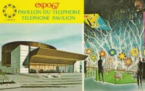 MONTREAL , Quebec, Canada, expo67 , Telephone Pavilion
