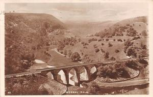 Monsal Dale Bridge Train Rail River Pont Panorama