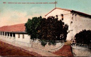 California San Luis Obispo Mission San Luis Obispo De Tolosa 1910