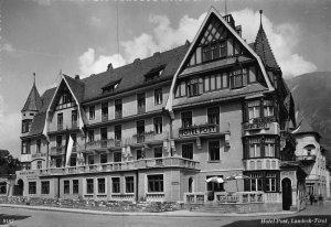 LANDECK TIROL AUSTRIA~HOTEL POST~1950s PHOTO POSTCARD