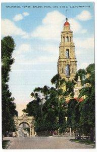 San Diego, California, California Tower, Balboa Park