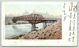 Colorado River Arizona~Needles Swing Bridge~1904 Detroit Pub Co #5507