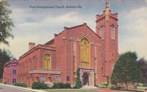 First Presbyterian Church, Atlanta, Georgia, 30-40s