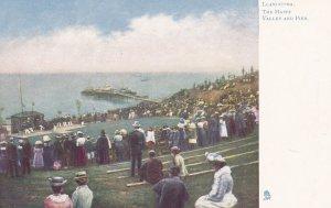 LLANDUDNO, Wales, 1900-1910s; The Happy Valley And Pier, TUCK #773