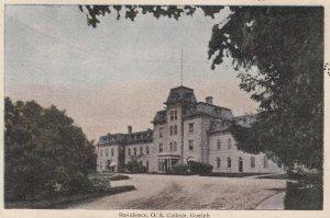 GUELPH, Ontario, Canada, PU-1918; Residence, O.A. College