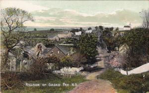 Village Of GRAND PRE, Nova Scotia, Canada, 1900-1910s