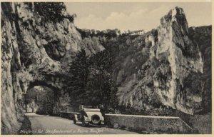 Haufen i. Tal Strassentunnel u. Ruine Haufen , Germany, 1939