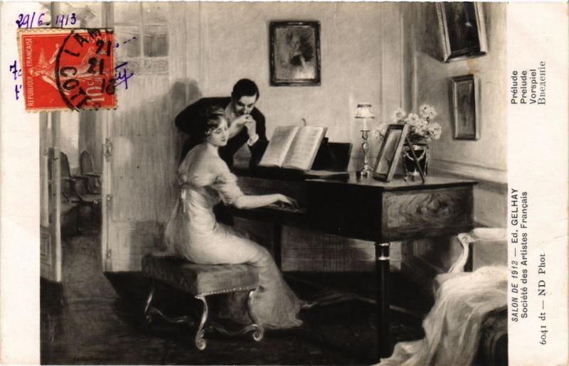 CPA Salon de 1912 Ed. GELHAY - Prélude (217961)