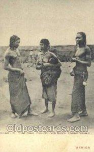 Angola, Ngola Tribe African Nude Unused