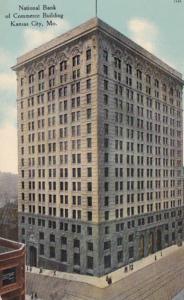 Missouri Kansas City National Bank Of Commerce Building 1912 Curteich