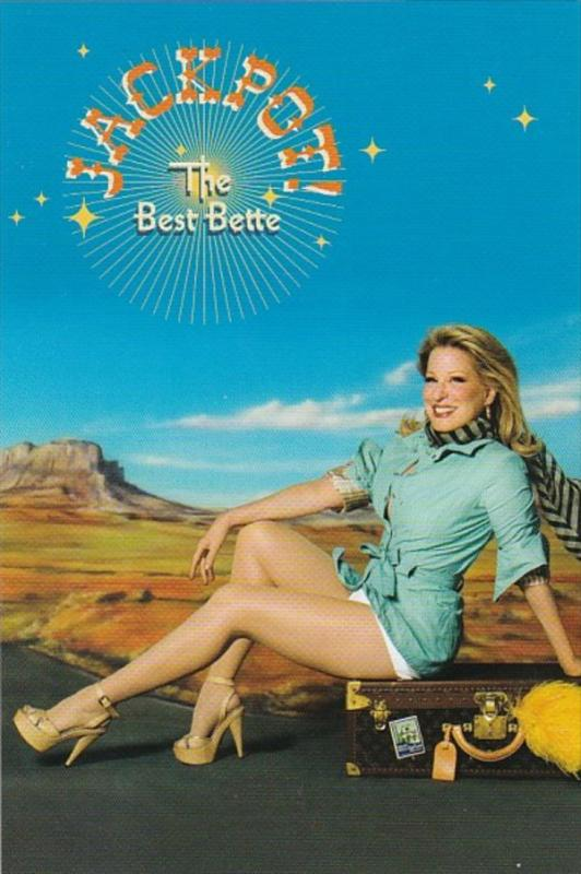Advertising Bette Midler Jackpot The Best Bette 19 Song Single Disc Collection