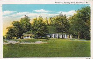 Petersburg Country Club, Petersburg, Virginia,  PU-1939