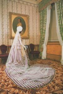 Kensington Palace London Victorian Court Dress Fashion Collection Rare Postcard