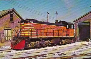 Fonda Johnstown & Gloversville Alco Switcher No 21 At Gloversville New York