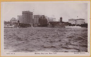 RPPC-New York City, Battery Sky Line, Davidson Brothers Photo-1908