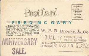 1914 Boston MA Ad Postcard: B. P. B. Brooks & Co. Furniture / Rugs / Ranges