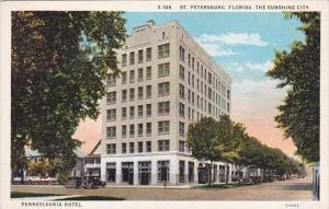 Florida Saint Petersburg The Sunshine City Pennsylvania Hotel