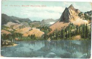 D/B of Lake Blanche Wasatch Mountains Utah UT